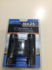 Barska Binoculars Ab10111 Optics Lucid View Compact 10x25mm Travel size w/ Strap
