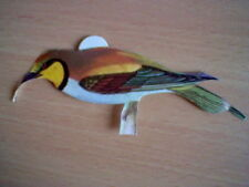 ABEJARUCO 70´S SPANISH PROMOTIONAL CARD BIRDS PANRICO UNSTICKED