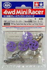 TAMIYA ACCESSORI MINI 4WD SUPPORTO FRP DOPPIE ROTELLE 19 MM  ART 15425