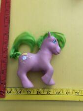 Vintage My Little Pony RASPBERRY Jam SWEETBERRY Purple Green G1 1985