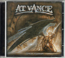 AT VANCE only human CD PL Rec. 2002 FIRST PRESS heavy power metal