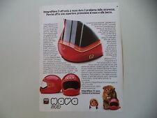 advertising Pubblicità 1982 CASCO HELMET INTEGRAL NAVA 3