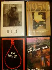 Lot of 4 African American Books.Thulani Davis, Albert Murray
