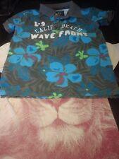 set of 2 t-shirts for boy size 8 crazy 8 and L.O.G.G.