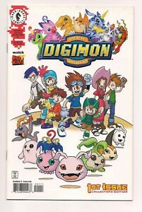 Digimon Digital Monsters #1 (2000) near mint condition comic (Dark Horse) / sh3