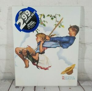 """Art Shoppe Ready To Hang Norman Rockwell Wooden Print 8"""" X 10"""""""