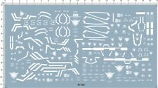 Detail Up Gundam MG 1/100 00 00 seven sword G RAISER 00R 7 Model Kit Water Decal