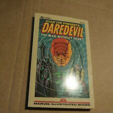 DAREDEVIL THE MAN WITHOUT FEAR- MARVEL ILLUSTRATED BOOKS (1982) 1ST EDITION TPB