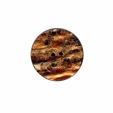 Buttons.etc ::Button #P65901:: Resin 38 mm Rust Lava