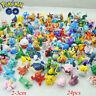 Random 24pcs/set Pikachu Pokemon Go Mini Figures Toys 2-3cm Pocket Monster Gift
