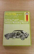 AUSTIN ALLEGRO 1500 & 1750 1973 TO 1978 HAYNES WORKSHOP MANUAL 165 USED FREE P&P