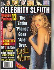 ESTELLA WARREN Celebrity Sleuth 2002 10/02 #20 ANGELINA  JOLIE LISA MARIE