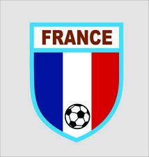 France Football Cool Vinyl Car Door Window Bumper Decal Sticker Hard Hat Decor