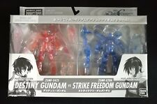 Bandai MIA MSIA Action Figure Destiny VS Strike Freedom Gundam Limited Clear Set