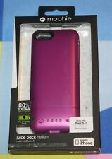 BRAND NEW Mophie Juice Pack Helium for iPhone5, 5s - 1500mAh battery case - Pink