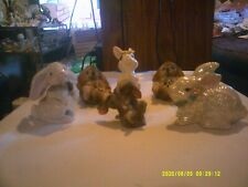 Lot of 6 Adorable Bunny Rabbits. Excellent Condition