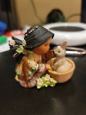 Enesco Friends Of The Feather Figurine Little Friend Of Every Bunny 1997