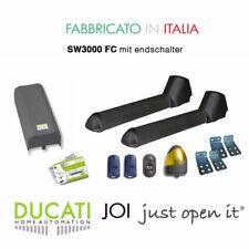 DUCATI SW3000FC Drehtorantrieb Doppel-Flügeltoröffner Set für Tore max.4m/400 kg