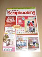 SCRAPBOOKING Création scrapbooking N°30 novembre 2010