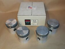 NOS BADGER BRAND 020 PISTON SET WITH RINGS FOR JEEP WILLYS