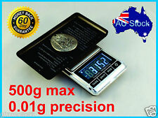 500g 0.01g Digital Precision Weight JEWELLERY ELECTRONIC POCKET LAB SCALE Mini