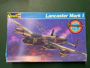 Revell Lancaster Mark I Model Kit, 1:72, NEVER ASSEMBLED