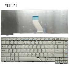 Fit Acer Aspire 4220 4520 4710 5520 5315 5910 5920 5710 US Keyboard GRAY White