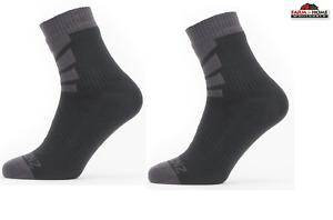 Seal Skinz Small Waterproof Socks Black ~ New
