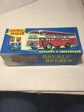 Vintage Friction Double Decker Bus With Box Preowned