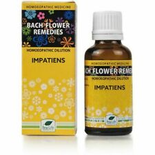 New Life Bach Flower Homoeopathic Dilution Impatiens (30ml) Stress,Impatience