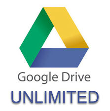 UNLIMITED Storage on Google Drive, Lifetime Access (Please read the description)