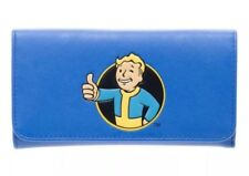 Fallout Vault Boy Thumbs Up Flap Fold Wallet Bethesda Blue NEW