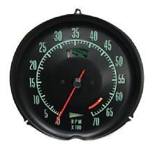 1969 1971 Corvette Tachometer Mechanical 6500 Redline New