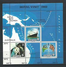 1982 Royal Visit Mini Sheet  Complete MUH/MNH as Issued