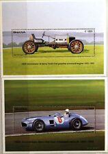 GHANA 1993 Block 220-21 Ford Super T Mercedes Benz Type 196 Cars Autos MNH