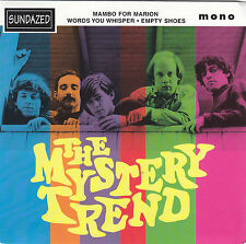 "THE MYSTERY TREND - mambo for marion + 2 EP 7"" red vinyl"
