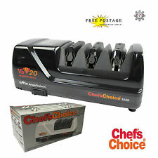 CHEF'S CHOICE CC 1520 Electric Diamond Knife Sharpener BLACK