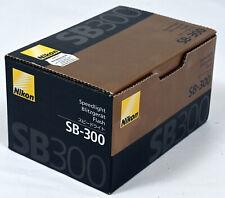 Nikon Speedlight SB-300 Shoe Mount Flash for All Nikon DSLR & Coolpix Cameras