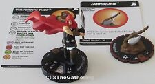 UNWORTHY THOR & JARNBJORN 065 S013 The Mighty Thor Marvel Heroclix Chase Rare