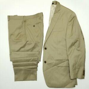 Michael Kors 2PC Suit - KELS2 - K2Z1405 - Light Olive - Twill - 40R 33W - NEW