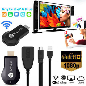4K HDMI Dongle WiFi Anycast Display Adapter Airplay DLNA Miracast TV Cast Stick