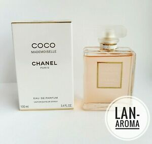 Chanel Coco Mademoiselle Eau de Parfum 3.4 /100 ml France New sealed Box SALE