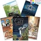 MYSTICAL CATS TAROT CARDS DECK LUNAEA WEATHERSTONE MICKIE MUELLER LLEWELLYN NEW