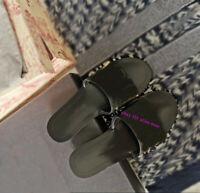 Metal Flats Shoes Slippers Fashion 2020SS New Women High Quality Metal Adorn