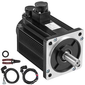 Servo Motor 3.8KW 15NM AC Servo CNC 2500rpm Pure Copper Inspection Stability