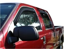 AVS 194953 In-Channel Window Deflector Ventvisor 4-Pc 1999-2016 Ford SD Crew Cab