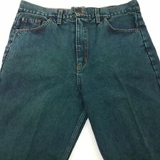 Diesel  Mens Vintage Retro Jeans W35 L32 Green Relaxed Loose Straight High Rise