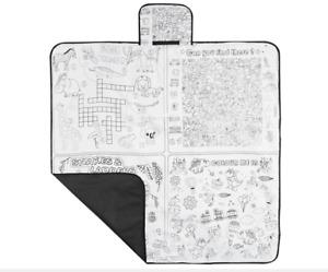 Kids/Family Indoor/Outdoor Picnic Game/Activity Blanket