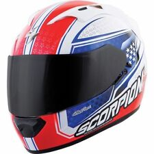 Scorpion EXO -T1200 SIGHT  Motorcycle Helmet X Small Neon Red/White/Blue