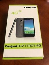 Brand New Coolpad QUATTRO II 4G LTE 801ES Touch  Quattro 2 Unknown Carrier